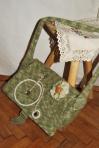 Geanta tricotata – bicicleta