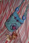 Geanta tricotata – model asimetric