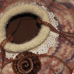 Geanta tricotata – violeta