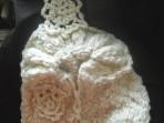 Poncho – tricotaje de mana