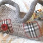 Geanta tricotata _ rustica