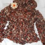 Pulover – pardesiu  –  tricotaje de mana