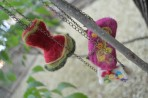 Colier handmade – fetru
